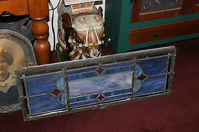 Antique Religious Church Stained Glass Window-Dedicated-Architectural Window 6