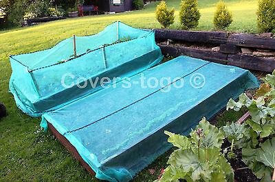Green Debris Netting 1M X 50M Scaffolds Garden Allotments Net 2