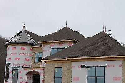 Final ,octagonal  Copper  Finial,home Roof Decor 4
