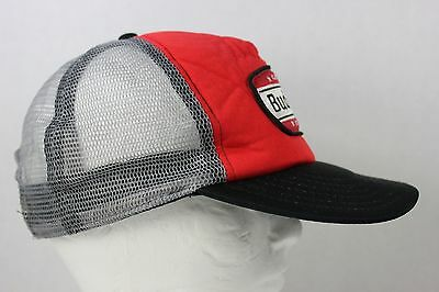 1800e3344 BUDWEISER BEER TRUCKER Hat Red Black Gray Mesh Snap Back Embroidered Patch  Logo