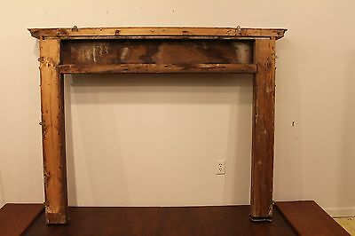 18th Century Adams Fireplace Mantel Carved Wood Basket, Urns, Floral Swags Etc. 9