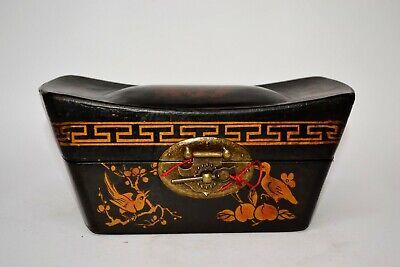 Truhe Kisten Box Schmuckbox Schatulle Holz chinesische Möbel Schatzkiste Vintage 3