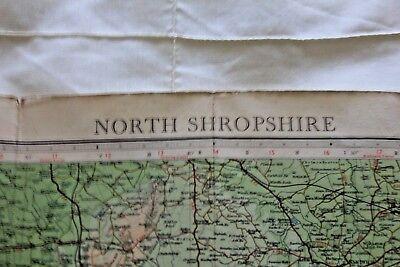 1910-1941 Antique Bartholomew's half inch map - GB sheet 23 N. Shropshire 6