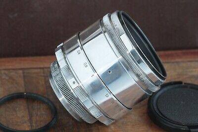 🎥 Excellent Helios 44 2/58 M39 M42 Silver Bokeh portrait Lens Perfekt seller 3