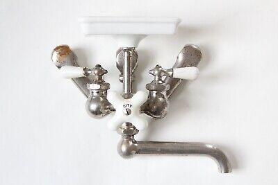 antique faucet kitchen sink | chicago vtg mixing faucet shower victorian deco 3