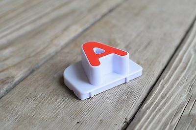 """Leap Frog Fridge Phonics Replacement Magnetic CAPITAL Individual Letters  1 3//4/"""""""