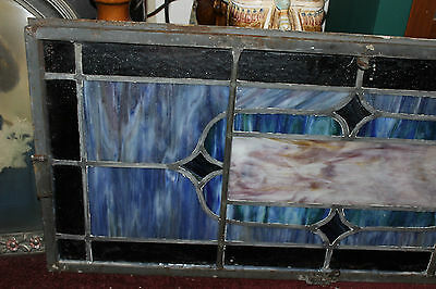 Antique Stained Glass Leaded Church Window-Religious-Eugene Bellinger-LARGE 9