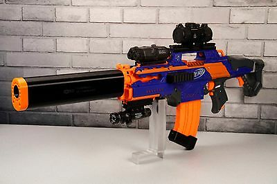 3D Printed – Taktisch Design Suppressor/Silencer for Nerf Dart Gun Blaster