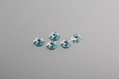 1 Stück Zirkonia 6 x 4 mm Oval AAA Tansanit CZ // Qualität AAA+Zirkonia
