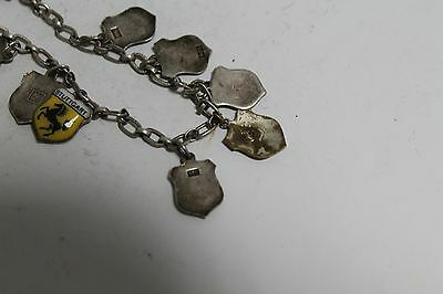Antique Authentic Hand Made Charming Silver Coins Woman Chain Bracelet. 9