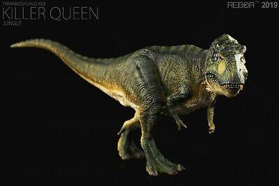 REBOR 1/35 Tyrannosaurus Rex T-Rex Killer Queen Dinosaur Model Animal Decor Toy 9