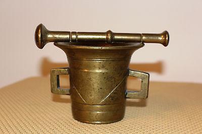 Mörser Schlegel Stössel antik Pistill Küche Pulver Deko Tabletten #6256 6