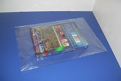 100 CLEAR 14 x 20 POLY BAGS PLASTIC LAY FLAT OPEN TOP PACKING ULINE BEST 1 MIL 3