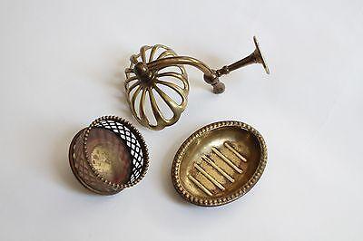 antique soap holder tumbler cup | silvers soap bathroom vtg deco victorian 3