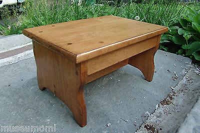 Phenomenal 10 Tall 11X16 Handcrafted Heavy Duty Wood Step Stool Ibusinesslaw Wood Chair Design Ideas Ibusinesslaworg