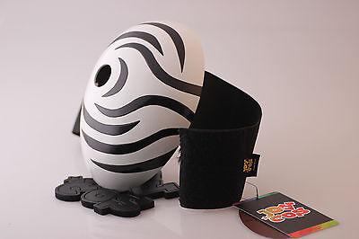 NARUTO Uchiha mask Akatsuki Ninja Madara Uchiha Mask Tobi Obito zebra-stripe Cos