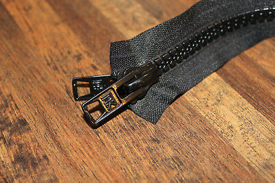 #10 Molded Zippers Closed End w// Metal Double Pull AutoLocking Slider