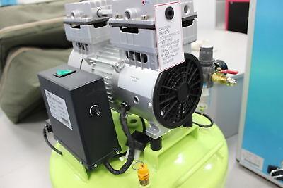 40L 800W Dental Noiseless Quiet Oil Free Oilless Air Compressor Motors 155L/min 5
