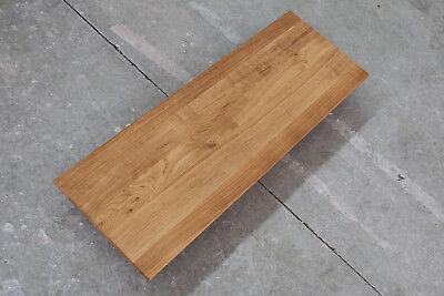 Keilgezinkt Platte Eiche Massiv Holz Brett Regal Tischplatte Treppenstufen  NEU