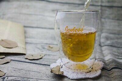LATTE TEE JENLESS® 270ml DOPPELWANDIGE GLÄSER KAFFEE THERMO-GLAS