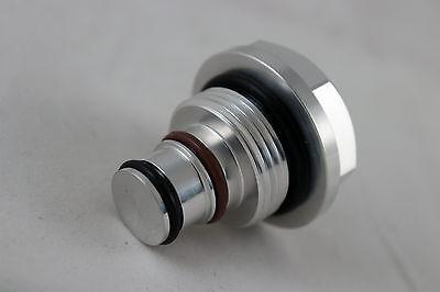For Dodge Ram 04-07 Cummins HE351CW Turbo Solenoid Replacement Plug Black Billet