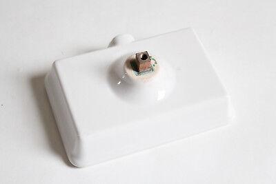 antique wall soap holder dish tray   kitchen soap vtg self draining soap vtg 10