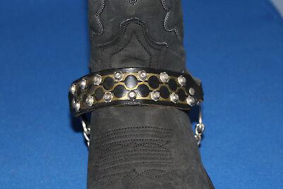 Neu SENDRA BOOTS Stiefelbänder Arnes67 Stiefelriemen Stiefelschmuck Leder Bänder