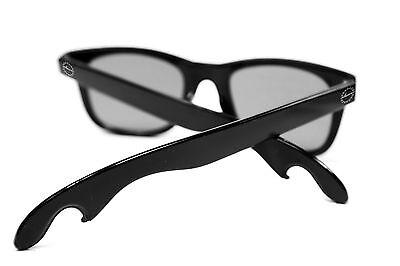 NEU CHEERS SUNGLASSES Polarized Flaschenöffner Sonnenbrille schwarz UV400