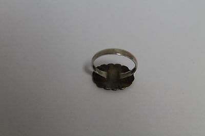 Antique Authentic Old Ottoman Turkish Islamic Silver Ring 5