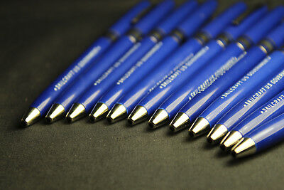 12 Pack Skilcraft Retractable Ball Point Pens Blue Ink Fine Point US Government 3