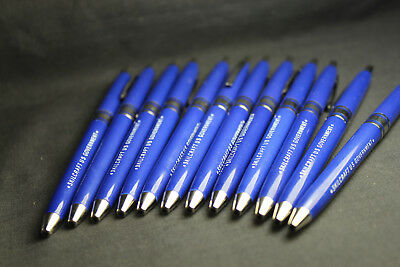 12 Pack Skilcraft Retractable Ball Point Pens Blue Ink Fine Point US Government 6