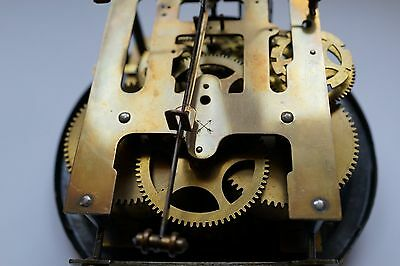 Old Vienna  wall clock with key fully working 3