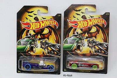 Hot Wheels Halloween 2019 Edition Set Of 6 Cars In Stock Now! Holiday Series 4