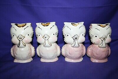 1940's 1950's Shawnee Pottery Chick Creamer Pitcher 16 different available 4