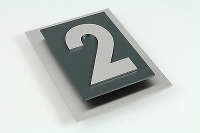 Hausnummer Anthrazit hausnummer edelstahl anthrazit die schönsten einrichtungsideen