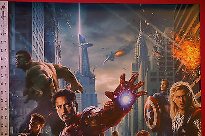 510 The Avengers Movie 1 2 Hulk Captain Thor Iron Man Wall Cloth Poster Print