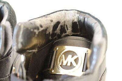 Michael Kors Sneakers In Pelle Tg 40 Scarpe Lether Shoes Original 100% 6