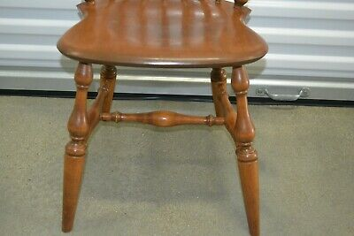 Fabulous Ethan Allen Heirloom Comb Back Mates Chair Maple 10 6040 Ocoug Best Dining Table And Chair Ideas Images Ocougorg