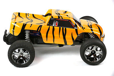 Custom Body Tiger Style for Traxxas 1//10 Rustler Stampede Truck Shell Cover
