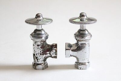 antique faucet wheel shut off angle valve | republic deco vtg victorian plumbing 5