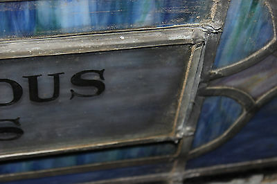Antique Religious Church Stained Glass Window-Dedicated-Architectural Window 10