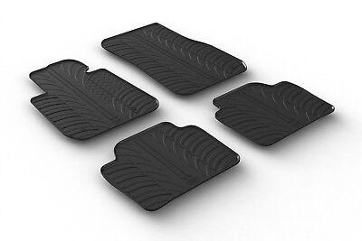 Weltpreise Velours Logo Fußmatten für BMW 3er F30 Limousine ab Bj.10//2011