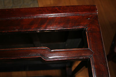 Antique Chinese Table Wood 18Th Century Kang Table 9