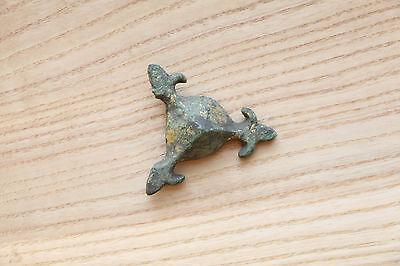 Rare Viking Bronze Belt decoration/plate - 9-11 AD 2