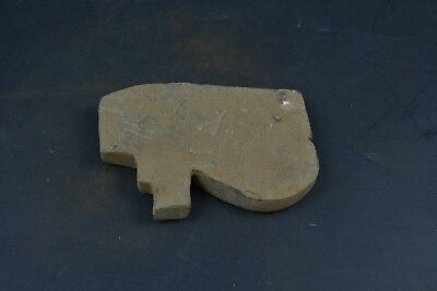 """Ancient Egyptian Stone Eye of Horus Amulet Figurine 4.8"""" from rare collection 2"""