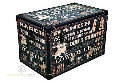 3er Set Kisten Cowboylook Aufbewahrung Box Kiste Truhe Wohnen Vintage NEU & OVP 6