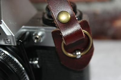 Vintage Echt Leder Alte Kamera Tragegurt Trageriemen Leather Camera Strap Nikon