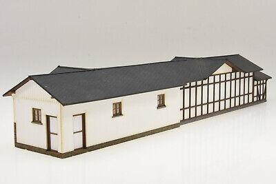 "te-miniatur 1870 Lasercut-Bausatz Bahnhof /""Eisfelder Talmühle/"" Harz Spur H0"
