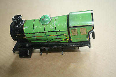 A beautiful  OLD TINPLATE TOY as a  DESK or BOOKCASE ORNAMENT  Hornby 'O' gauge 2