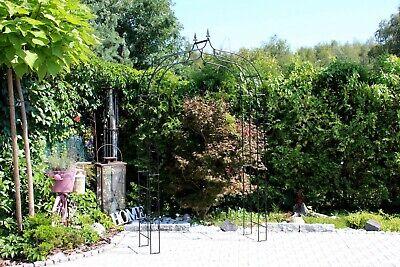 Rosenbogen AMSTERDAM B 1,60 m Metall Pergola Gartenbogen Rosensäule Rankhilfe